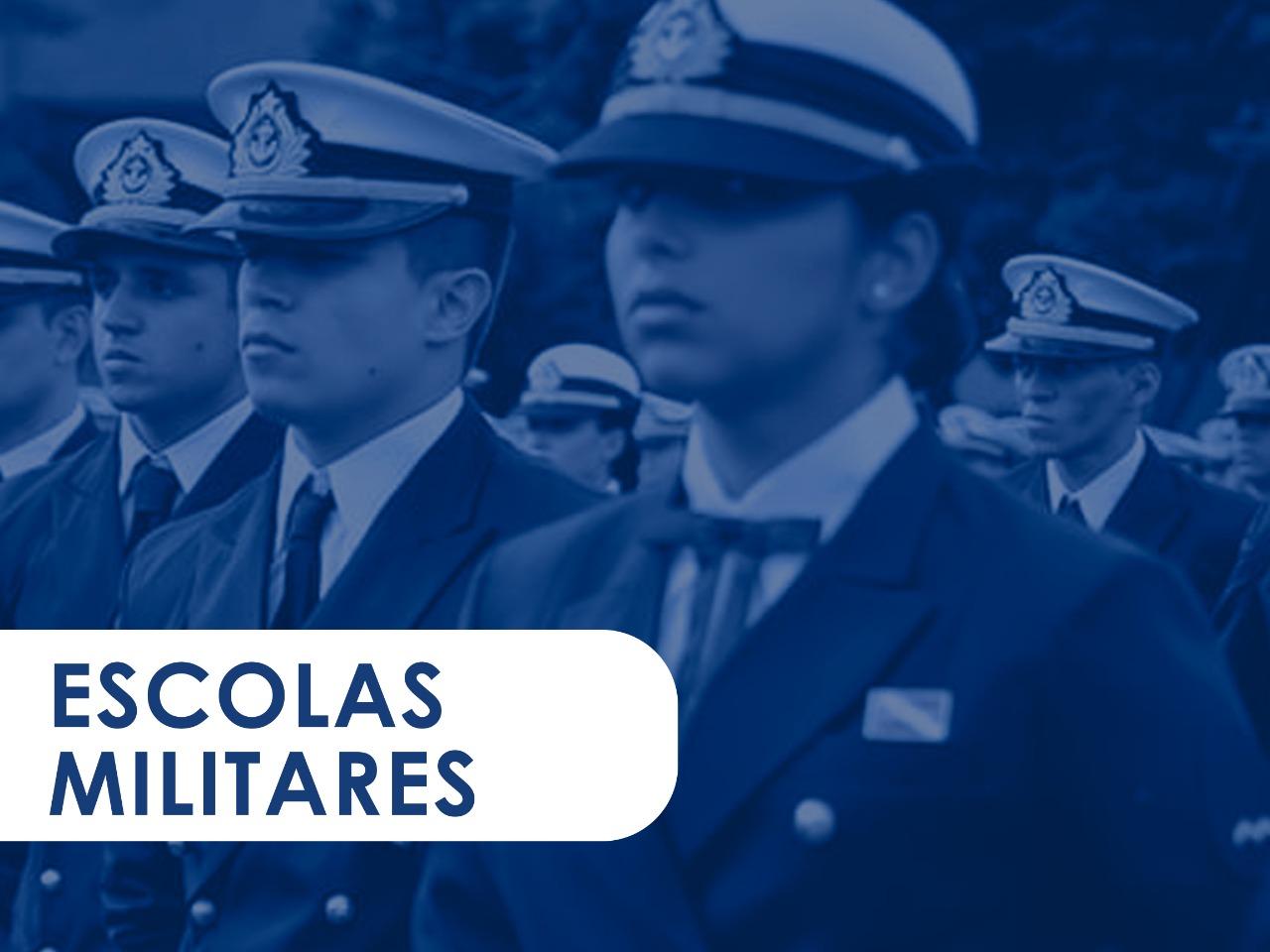 ESCOLAS DE OFICIAIS - AFA - EFOMM - ESCOLA NAVAL - ESPCEX